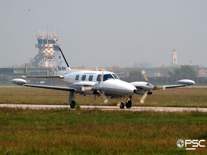 9A-BIH PA-31T1 31T-1104016 Delic Air @ Aeroporto di Verona 09.11.2008  © Piti Spotter Club Verona