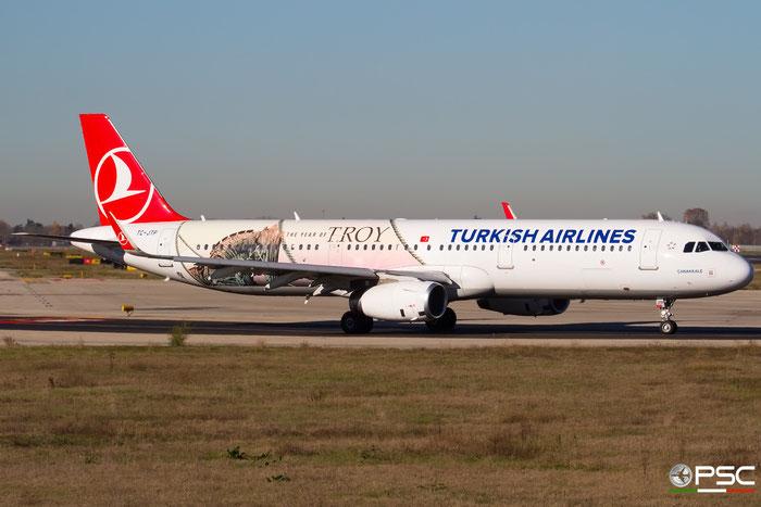 TC-JTP  A321-231  7516  Turkish Airlines - THY Türk Hava Yollari @ Bologna 2018 © Piti Spotter Club Verona