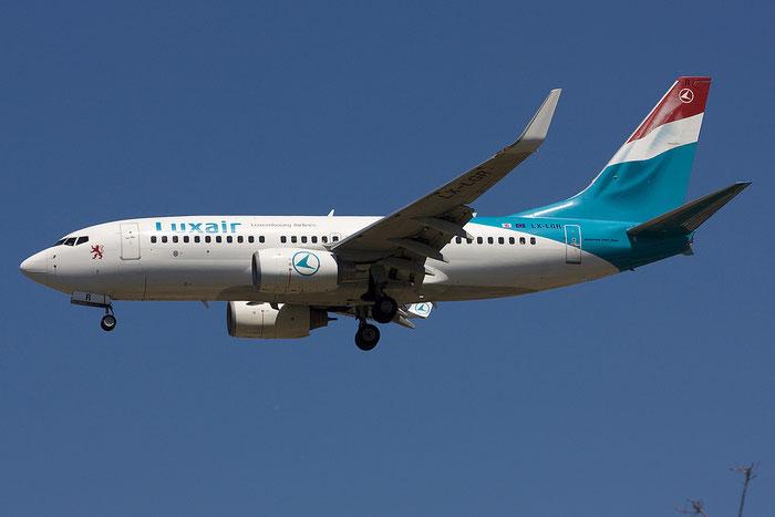 LX-LGR B737-7C9 33803/1468 Luxair @ Rimini Airport 18.07.2012 © Piti Spotter Club Verona