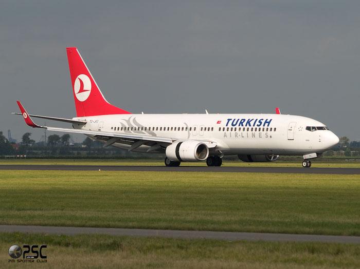 TC-JFC B737-8F2 29765/80 Turkish Airlines - THY Türk Hava Yollari @ Amsterdam Airport 20.09.2013 © Piti Spotter Club Verona