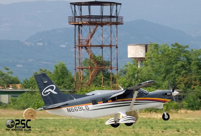 N669LG Quest Kodiak 100 KODI @ Aeroporto Verona Boscomantico © Piti Spotter Club Verona