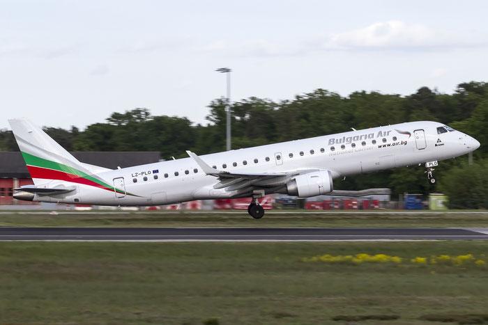 LZ-PLO ERJ190STD 19000584 Bulgaria Air @ Frankfurt Airport 08.05.2015 © Piti Spotter Club Verona