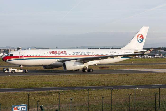 B-5941 A330-243 1484 China Eastern Airlines @ Frankfurt Airport 08.05.2015 © Piti Spotter Club Verona
