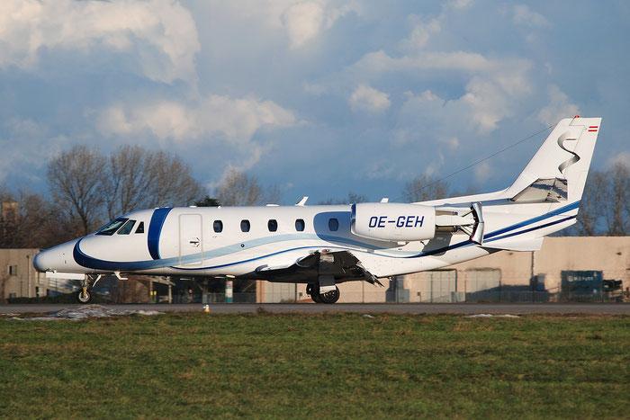 OE-GEH Ce560XLS 560-5755 Avcon Jet AG @ Milano Linate Airport 02.01.2010 © Piti Spotter Club Verona