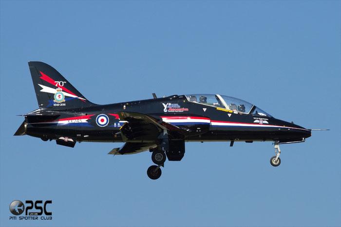 XX245   Hawk T1  312081/081  Red Arrows © Piti Spotter Club Verona