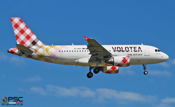 EC-NDG A319-111 3364 Volotea Air @ Aeroporto di Verona 05.2019  © Piti Spotter Club Verona
