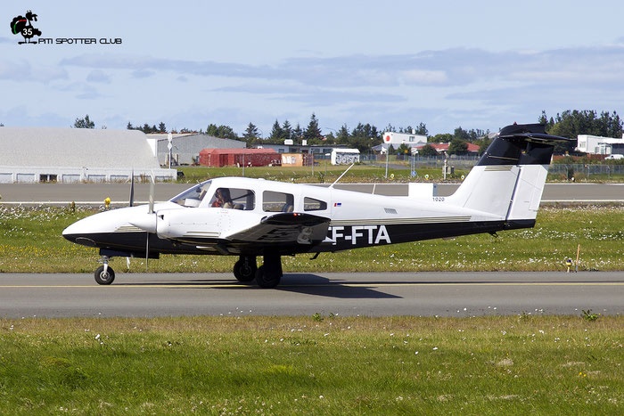 TF-FTA. Piper PA-44-180 Seminole @ Reykjavik Airport 08.2019 © Piti Spotter Club Verona