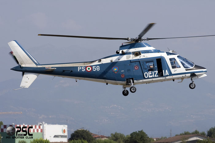 MM80758  PS-58  A109A-II  7294 @ Aeroporto di Verona   © Piti Spotter Club Verona
