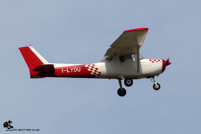 I-LYOU Cessna FRA150L Aeroclub di Brescia - @ Aeroporto di Verona 09.2020  © Piti Spotter Club Verona
