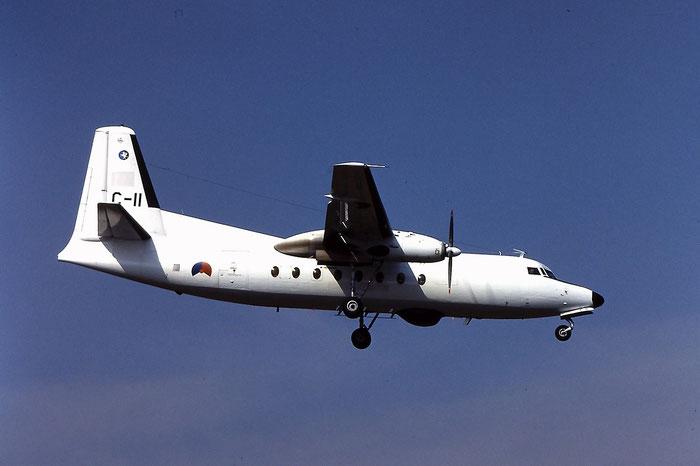 C-11   F27-300M  10161 @ Aeroporto di Verona   © Piti Spotter Club Verona