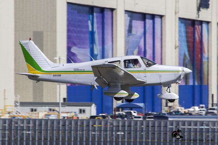N161SM 1979 PIPER PA-28-161 @ Paine Field Airport 23.09.2015 © Piti Spotter Club Verona
