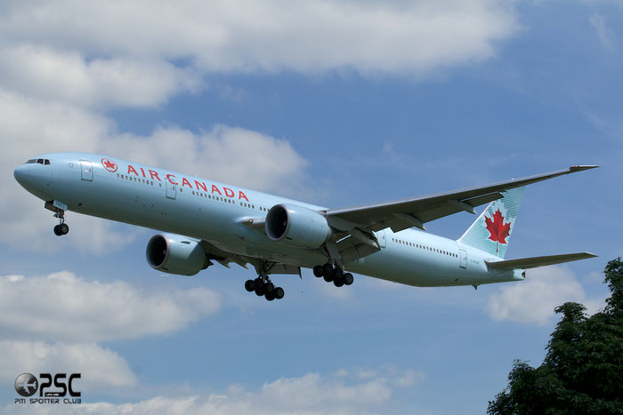 C-FIVR B777-333ER 35241/763 Air Canada @ London Heathrow Airport 12.06.2014 © Piti Spotter Club Verona
