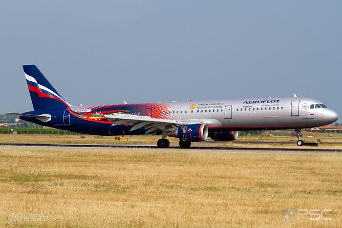 VP-BTL A321-211 5881 Aeroflot @ Aeroporto di Verona 07.2019  © Piti Spotter Club Verona