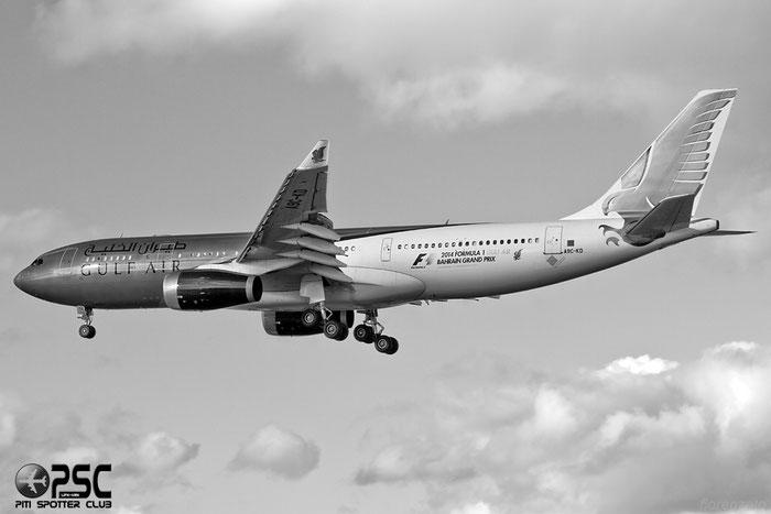 A9C-KD A330-243 287 Gulf Air @ London Heathrow Airport 07.02.2014 © Piti Spotter Club Verona