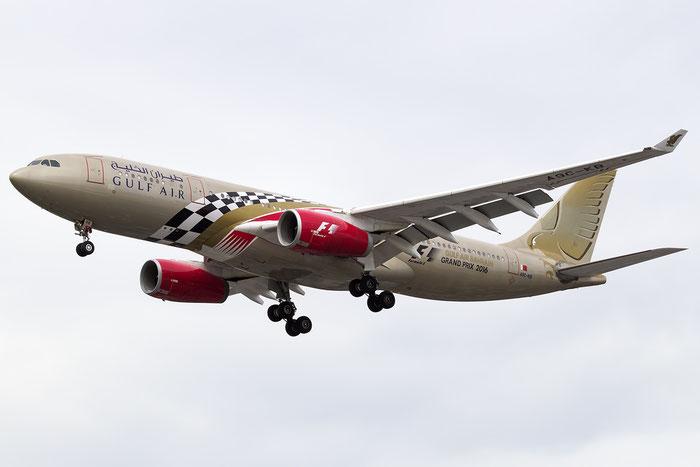 A9C-KB A330-243 281 Gulf Air @ London Heathrow Airport 09.07.2016 © Piti Spotter Club Verona