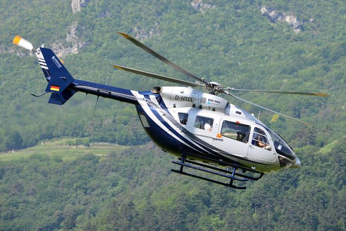 D-HTCL MBB-Kawasaki Bk-117 BK17 @ Aeroporto di Trento © Piti Spotter Club Verona