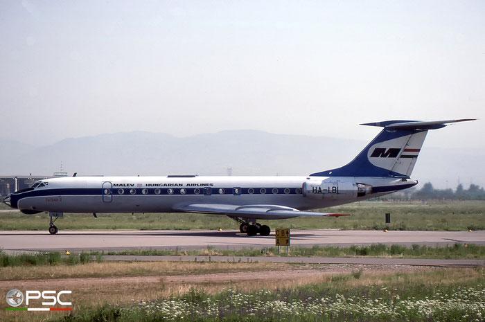 HA-LBI 1351301 Tu-134A HA-LBI MALÉV © 2018 courtesy of Marco Ceschi - Piti Spotter Club Verona