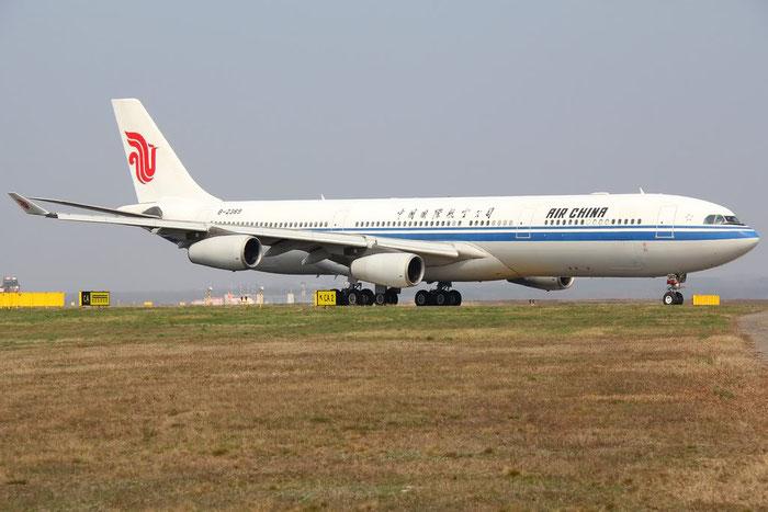 B-2389 A340-313X 243 Air China @ Milano Malpensa Airport 25.03.2012 © Piti Spotter Club Verona