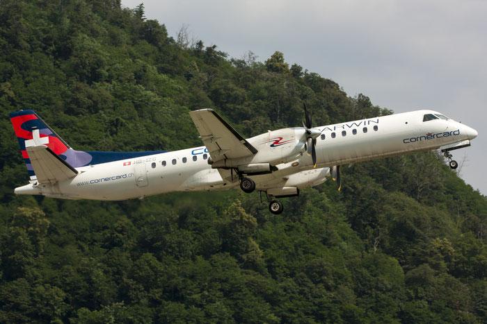 HB-IZG Saab 2000 2000-010 Darwin Airline @ Lugano Airport 19.07.2013 © Piti Spotter Club Verona
