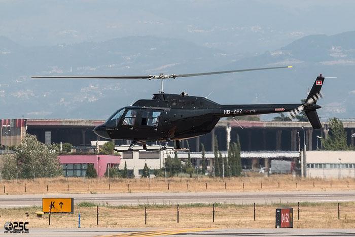 HB-ZPZ Agusta-Bell 206B Jet Ranger 2, s/n: 8714 @ Aeroporto di Verona © Piti Spotter Club Verona