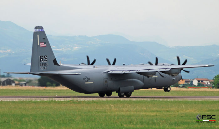 08-8603  RS  C-130J-30  382-5613  37th AS © Piti Spotter Club Verona