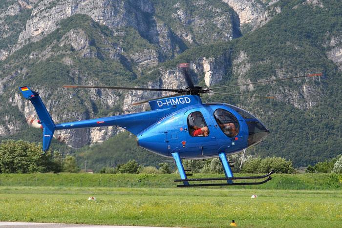 D-HMGD - Airline: Private Aircraft: Hughes 369E @ Aeroporto di Trento © Piti Spotter Club Verona