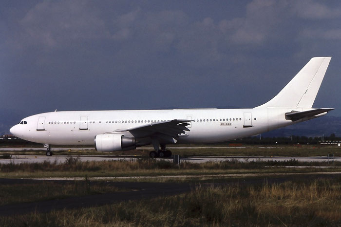 SU-GAC A300B4-203 255 EgyptAir @ Aeroporto di Verona © Piti Spotter Club Verona