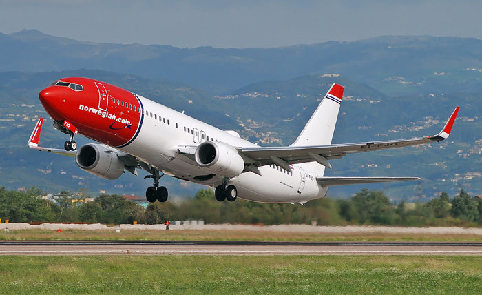 EI-FJO B737-8JP 42076/5912 Norwegian @ Aeroporto di Verona 26.09.2018  © Piti Spotter Club Verona