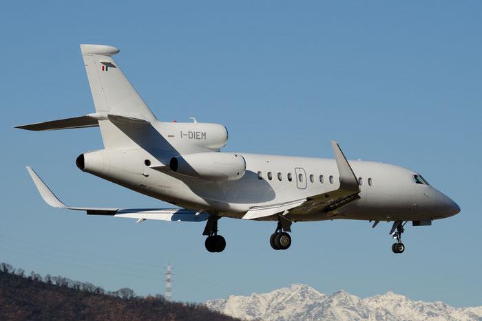 I-DIEM Falcon 900LX 253 CAI - Compagnia Aeronautica Italiana @ Aeroporto di Bolzano © Piti Spotter Club Verona