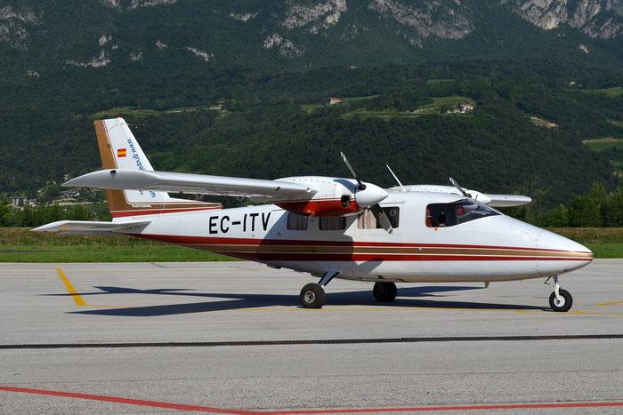 EC-ITV Partenavia P-68TC P68 239-05/TC GPM - Grup Air-Med @ Aeroporto di Trento © Piti Spotter Club Verona