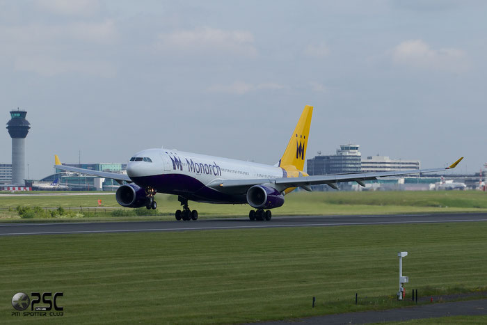 G-SMAN A330-243 261 Monarch Airlines @ Manchester Airport 13.05.2014 © Piti Spotter Club Verona