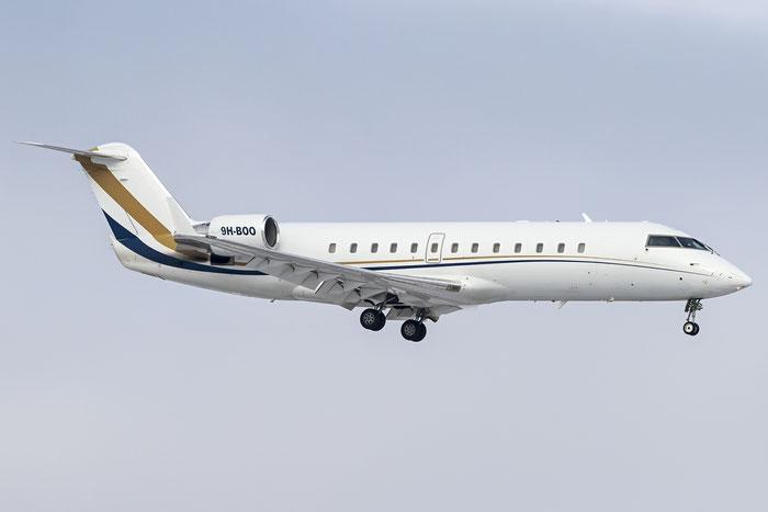 9H-BOO CL-850 8051 Air X Charter @ Zurich Airport 20.01.2016 © Piti Spotter Club Verona