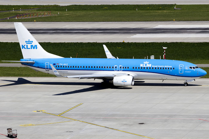 PH-BXZ B737-8K2 30368/2533 KLM Royal Dutch Airlines @ Zurich Airport - 05.2016  © Piti Spotter Club Verona
