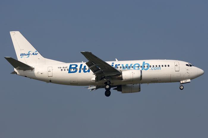Blue Air apre i servizi su Bucarest e Arad