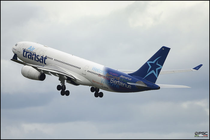 C-GTSI A330-243 427 Air Transat @ Manchester Airport 21.06.2015 © Piti Spotter Club Verona