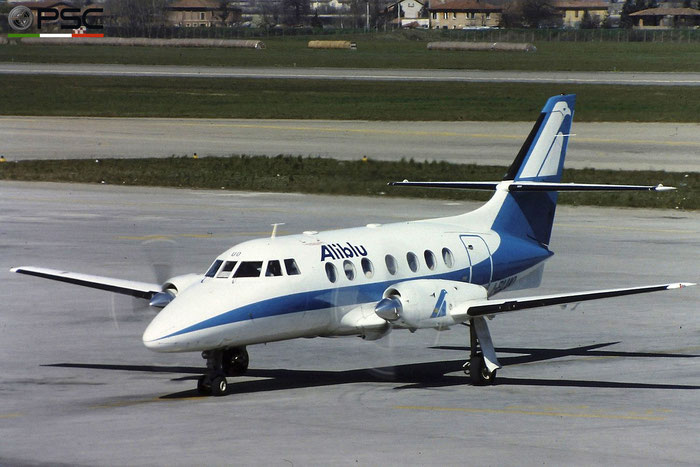 I-BLUO  BAe3109  761  Aliblu Airways  @ Aeroporto di Verona © Piti Spotter Club Verona