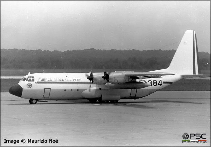 384  (OB-1378  L-100-20  4715  Grupo 8  Active  Jan 1977