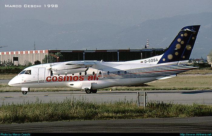 D-COSA Do328-110 3085 Cosmos Air @ Aeroporto di Verona © Piti Spotter Club Verona