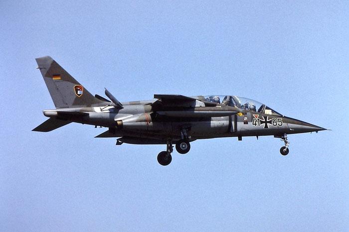 41+65   Alpha Jet A  0165 @ Aeroporto di Verona   © Piti Spotter Club Verona