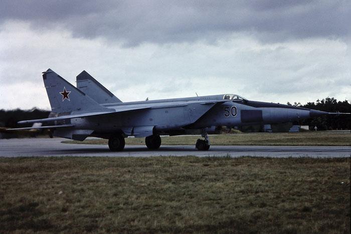 50 rd  MiG-25RBK  N02048240  931 GvORAP © Piti Spotter Club Verona