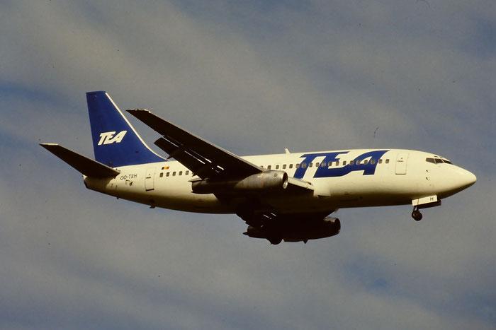 OO-TEH  B737-2M8  21231/462  TEA - Trans European Airways  @ Aeroporto di Verona © Piti Spotter Club Verona