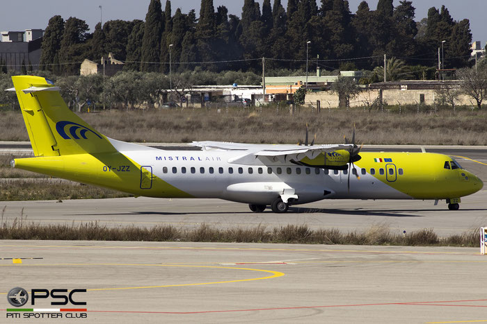 OY-JZZ ATR72-212A 548 Mistral Air @ Bari Airport 04.03.2017 © Piti Spotter Club Verona