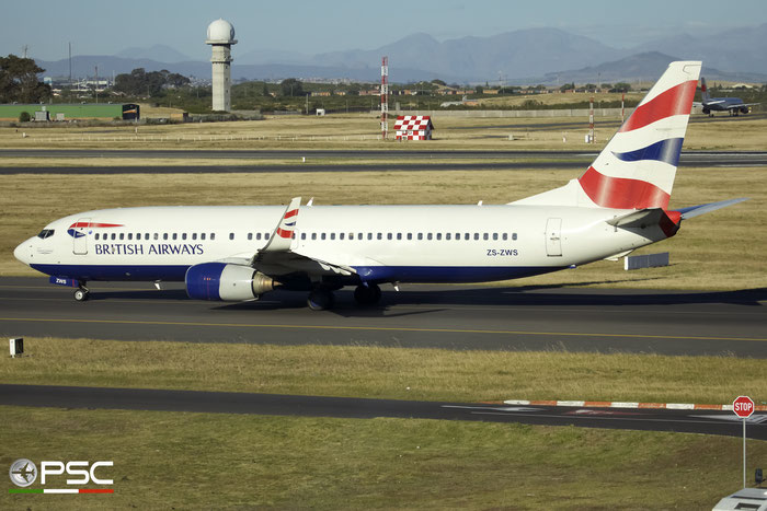 ZS-ZWS B737-86N 32732/1056 Comair - Commercial Airways @ Cape Town International Airport 24.11.2017 © Piti Spotter Club Verona