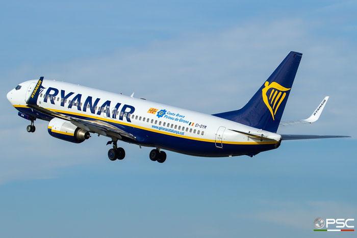 EI-DYM B737-8AS 36575/2636 Ryanair @ Aeroporto di Verona 28.10.2017  © Piti Spotter Club Verona