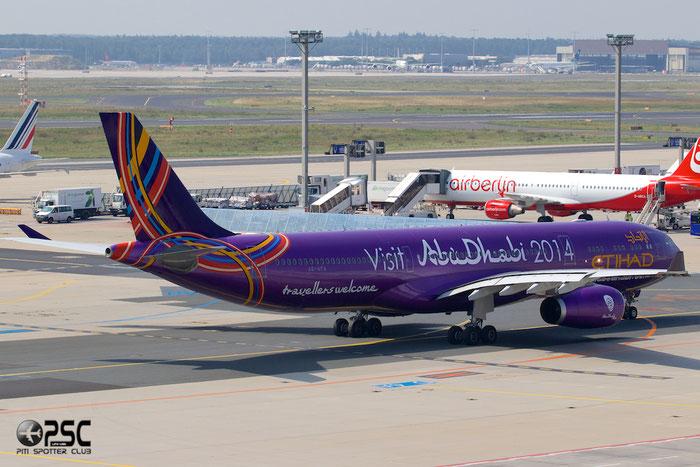 A6-AFA A330-343E 1071 Etihad Airways @ Frankfurt Airport 25.07.2014 © Piti Spotter Club Verona