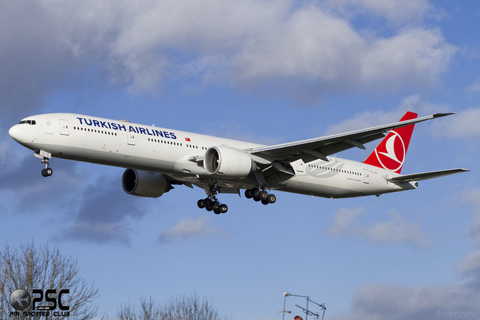 TC-JJL B777-3F2ER 40793/919 Turkish Airlines - THY Türk Hava Yollari @ London Heathrow Airport 07.02.2014 © Piti Spotter Club Verona