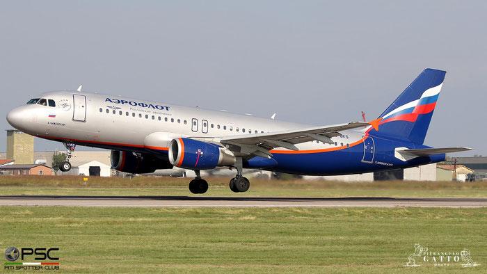 VQ-BKS A320-214 4692 Aeroflot @ Aeroporto di Verona 10.2019  © Piti Spotter Club Verona