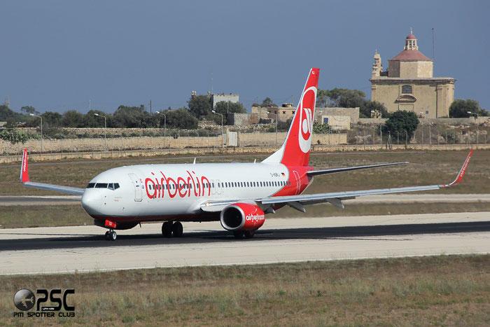 D-ABKJ B737-86J 37749/3176 Air Berlin @ Malta Airport 09.2014 © Piti Spotter Club Verona