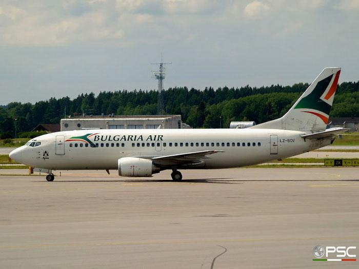 LZ-BOV B737-330 23833/1439 Bulgaria Air @ Stockholm Arlanda Airport 19.07.2008 © Piti Spotter Club Verona