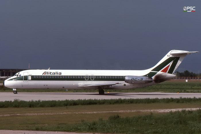 I-DIBJ  DC-9-32  47235/436  Alitalia  @ Aeroporto di Verona © Piti Spotter Club Verona